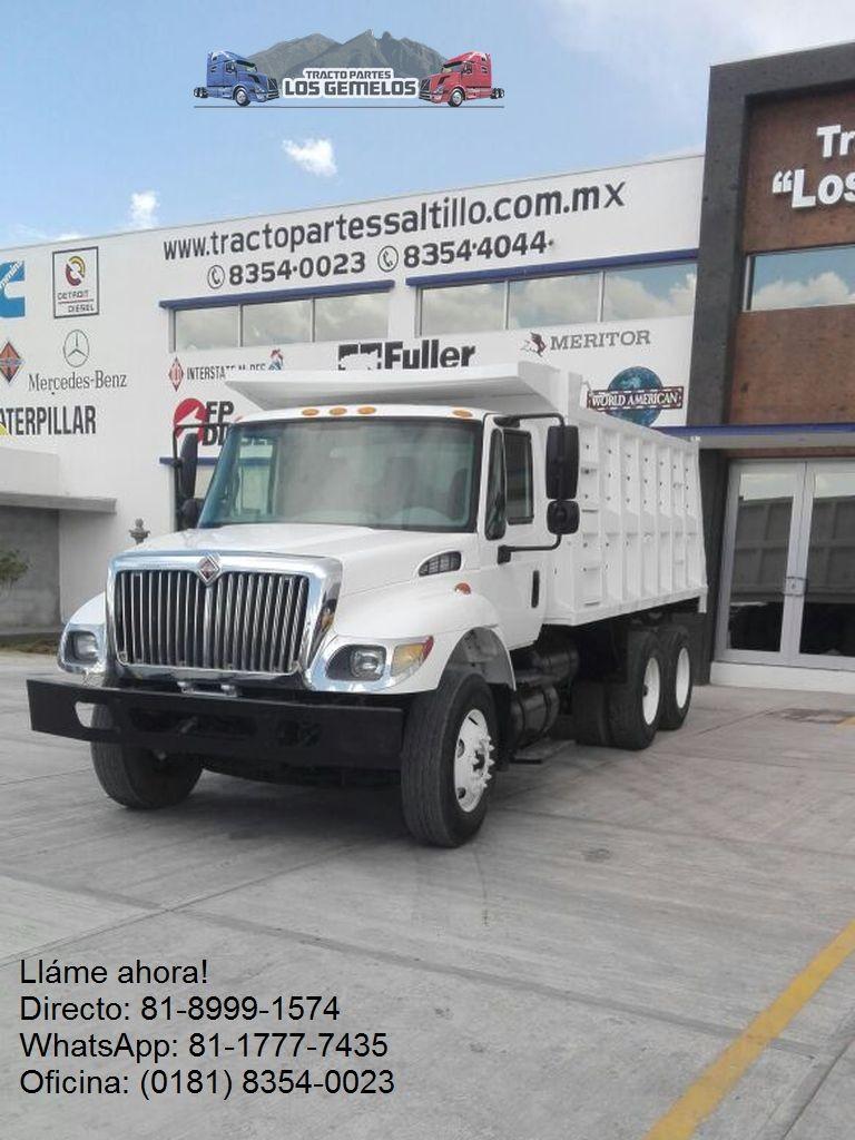 Camión de Volteo International 7400